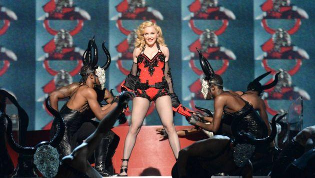 Madonna se pronunció mediante su cuenta de Twitter tras su caída. (Facebook Madonna)