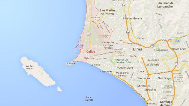Sismo se sintió en Lima y Callao. (Google Maps)