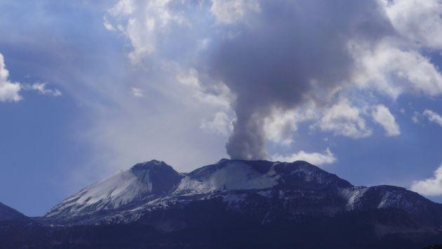 Sismos en Cabanaconde tendrían relación con volcán Sabancaya. (IGP)