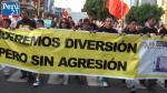 #TVbasura: ¿Qué se buscó con la marcha? Los asistentes te lo cuentan