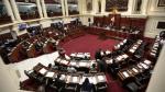 Congreso: Pleno sesionará tres veces esta semana - Noticias de pensiones