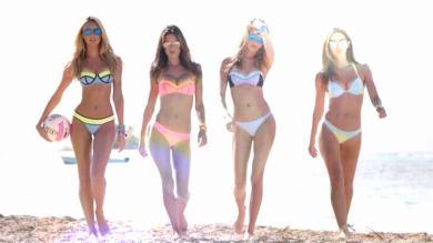 YouTube: Mira a los 'ángeles' de Victoria's Secret jugando vóley en la playa