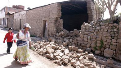 Arequipa: Sismo en Cabaconde afectó a más de 2 mil personas