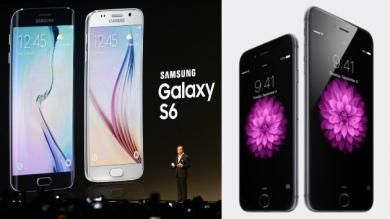 iPhone, Galaxy