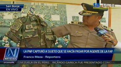 Surco, Policía Nacional