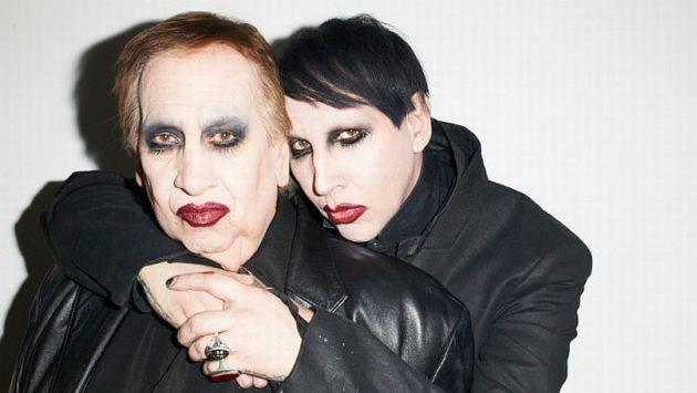 Marilyn Manson y su padre posaron para la revista Paper