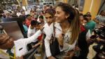 Paolo Guerrero y Alondra García Miró regresaron a Brasil - Noticias de once caldas