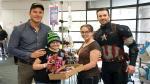 Capitán América visitó a niños de hospital de Seattle junto a Chris Pratt [Fotos] - Noticias de marvel; super bowl