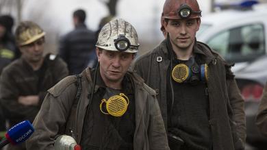 Ucrania: Al menos 32 desaparecidos por explosión en mina de carbón
