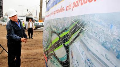 Municipalidad de Lima inició construcción de intercambio vial en óvalo Naranjal