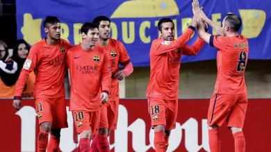 Barcelona disputará final de la Copa del Rey gracias a Neymar y Luis Suárez