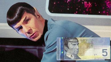 Spock, Banco de Canadá