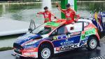 Nicolás Fuchs quedó en el segundo lugar del WRC2 de México - Noticias de nicolas fuchs