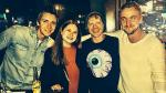 'Harry Potter': 'Draco Malfoy' y los hermanos Weasley se reencontraron - Noticias de ron weasley
