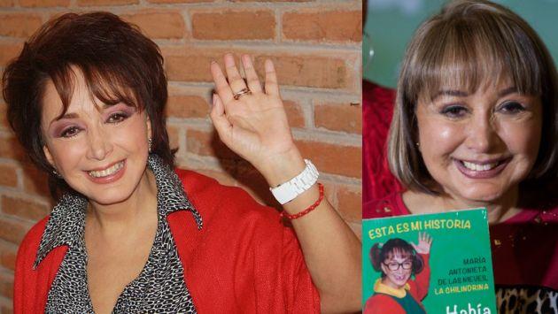 'La Chilindrina' admitió que cambió su rostro al inyectarse su propia grasa.  (Flickr/24 Horas de México)