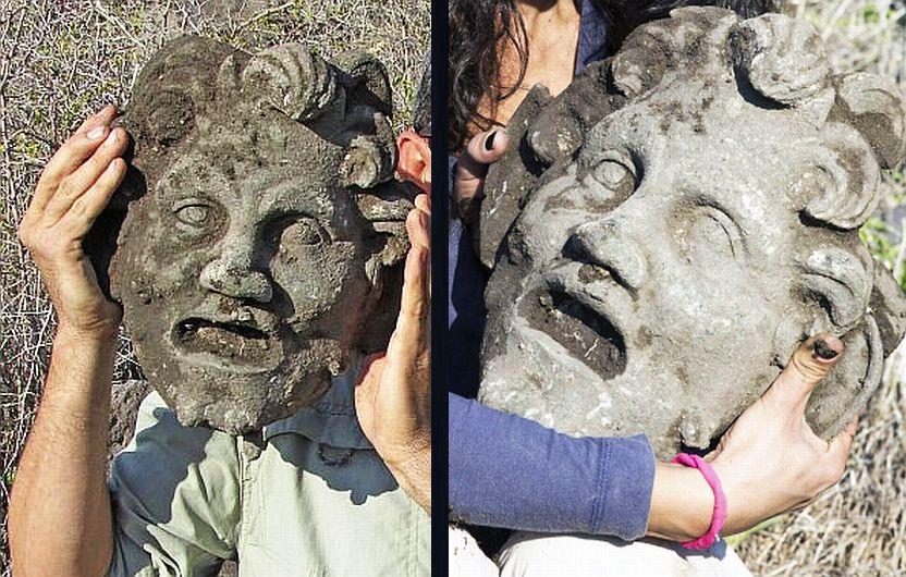 Hallan máscara del dios Pan 288246