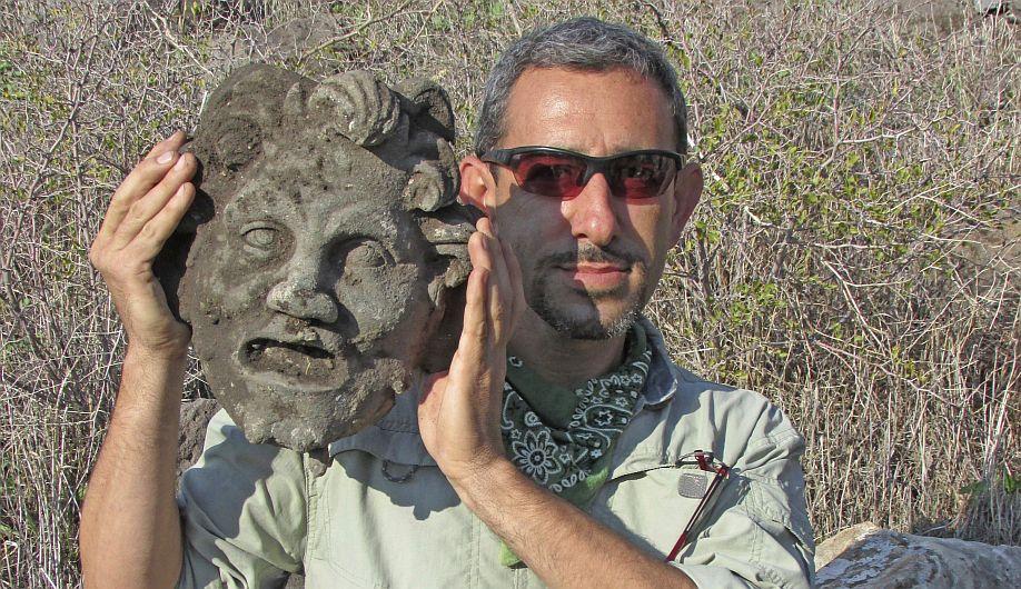 Hallan máscara del dios Pan 288247