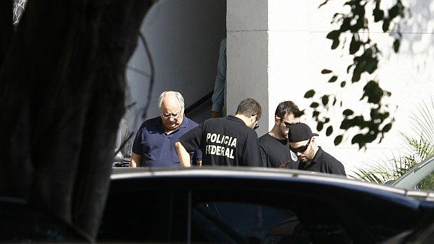 Policía detuvo este lunes a Renato Duque, ex director de Servicios de Petrobras. (Reuters)