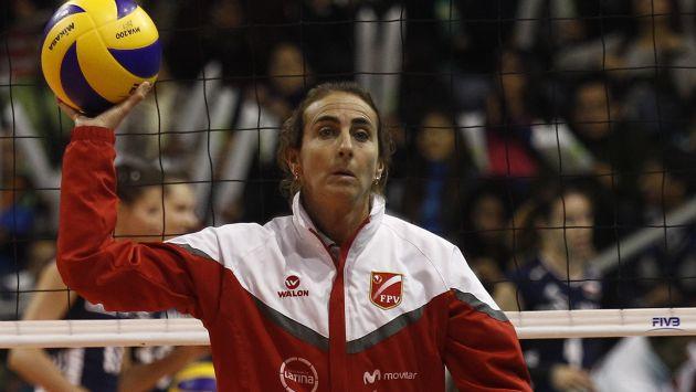 Natalia Málaga sería sancionada por la Federación Peruana de Voleibol. (USI)
