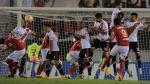Juan Aurich igualó 1-1 con River Plate en la Copa Libertadores 2015 - Noticias de estadio de san marcos