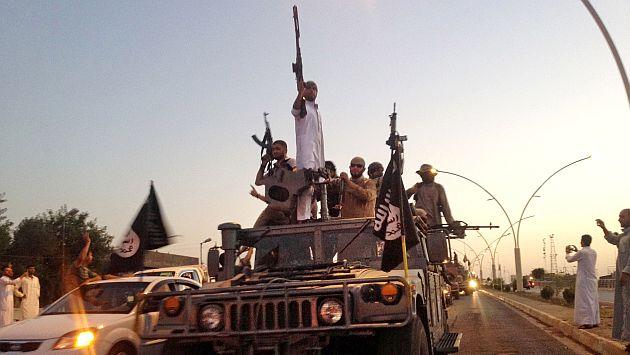 Estado Islámico sigue con su ofensiva militar. (AP)
