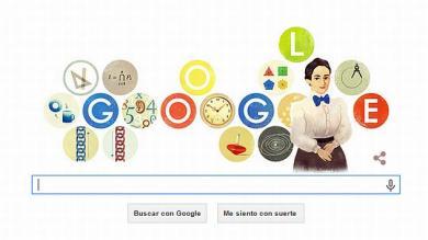 Google, Doodle, Emmy Noether