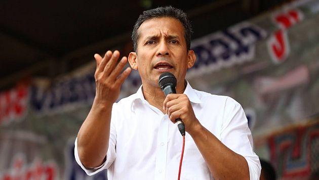 Ollanta Humala dijo que Tía María no tocará las aguas de la cuenca del Tambo. (USI)