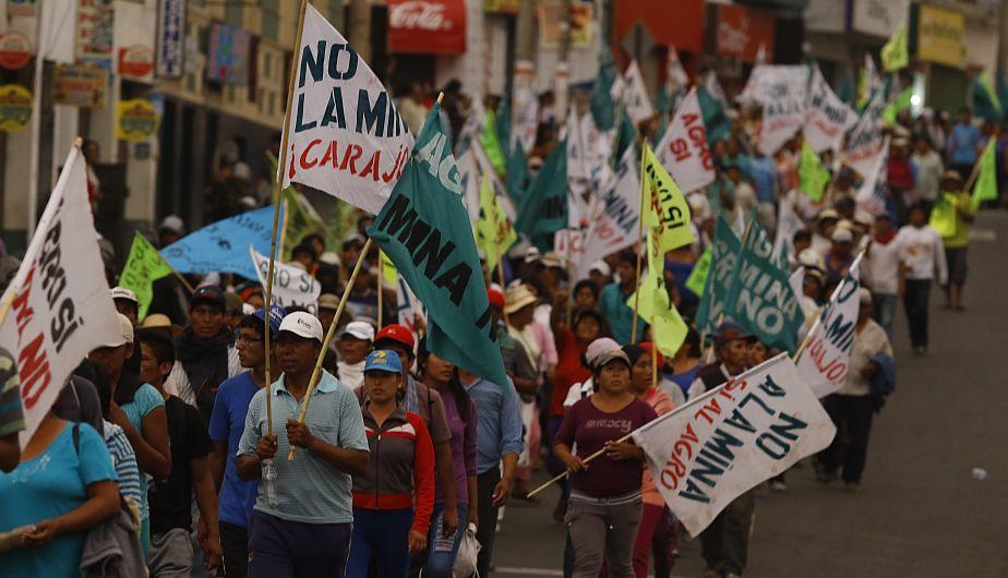 Manifestaciones por proyecto cuprífero Tía María se radicalizarían. (Perú21)
