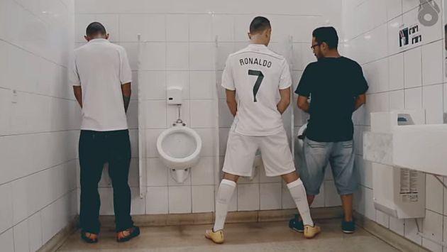 Se burlaron de Cristiano Ronaldo en YouTube. (Captura Youtube)