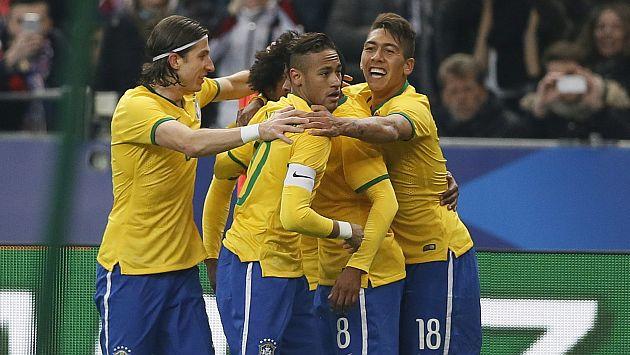 Dunga ha ganado 8 partidos seguidos con Brasil. (EFE)