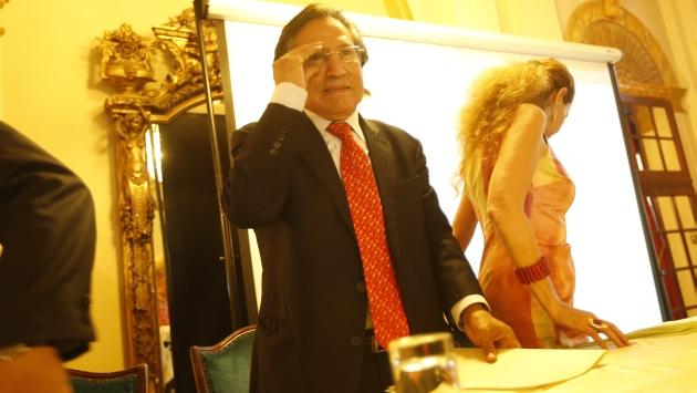 ¿MENSAJE? Para algunos analistas, lo dicho por Alejandro Toledo es una advertencia para su socio Ollanta Humala. (César Fajardo)