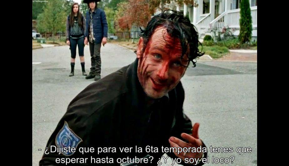 The Walking Dead Mira los memes por el final de la quinta temporada