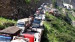 Huaico en Chosica: Carretera Central con gran congestión vehicular