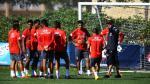 Selección peruana: Perú entrenó en Miami y DT Gareca exigió buen juego