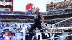 WrestleMania 31: La Roca y Ronda Rousey castigaron a Triple H - Noticias de mujer golpeada