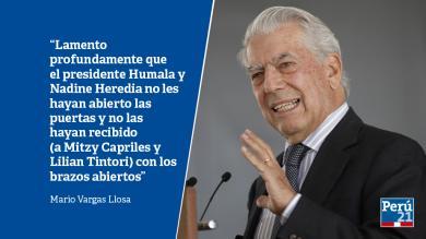 Mario Vargas Llosa: En 10 frases, su crítica a Ollanta Humala y Venezuela