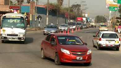 Huaico en Chosica: Se reabrió tránsito en Carretera Central [Fotos y video]