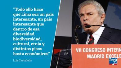 Luis Castañeda: 7 frases del alcalde de Lima en su discurso en España