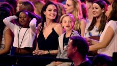 Angelina Jolie reapareció tras operación para extirparse los ovarios