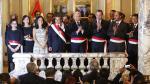 Ollanta Humala tomó juramento a nuevo gabinete ministerial - Noticias de liliana humala