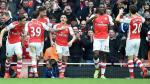 Arsenal goleó 4-1 al Liverpool y sigue soñando con la Premier League - Noticias de simon west