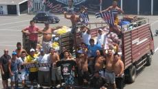 Alianza Lima: Jugadores y Comando Sur llevaron ayuda a damnificados de Chosica