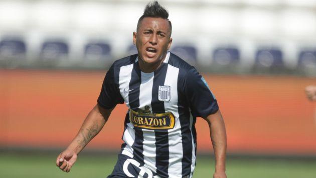 El jugador de Alianza Lima Christian Cueva aseguró que si anotó ante la San Martín gritará el gol. (USI)