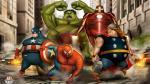 ¿Cómo lucirían tus superhéroes de Marvel y DC Comics con sobrepeso? - Noticias de comics
