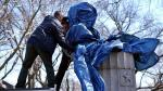 Edward Snowden: Retiraron estatua de ex analista de NSA en Brooklyn - Noticias de edward snowden