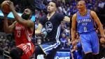 NBA: Conozca a los tres favoritos para ganar premio a mejor jugador del año - Noticias de james houston