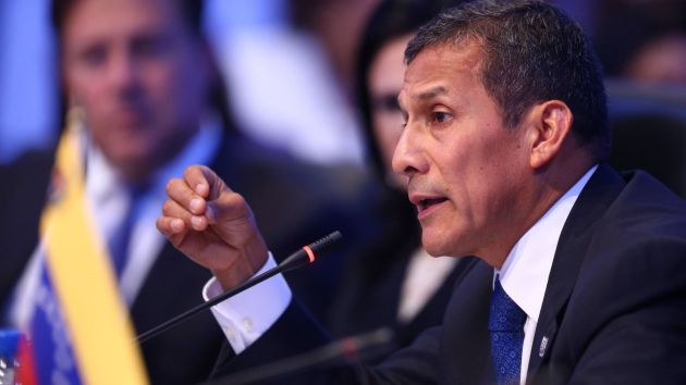 Ollanta Humala pidió una mayor impulso a la educación en la región. (Andina)