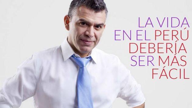 Julio Guzmán dice que este es su lema de vida (Facebook)