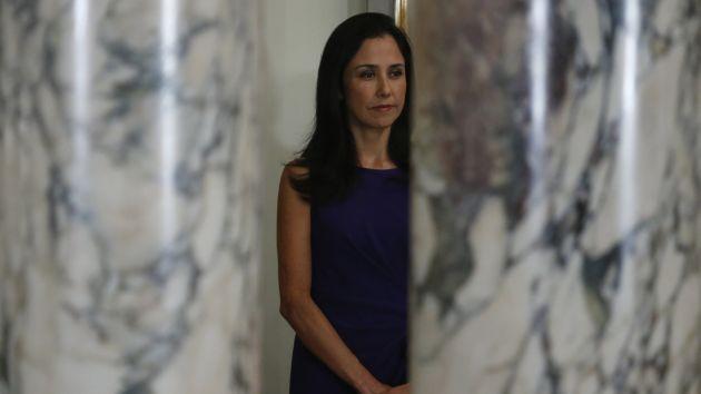 Denuncia advierte que Nadine Heredia utilizó aeronaves para sus viajes al interior del país. (Mario Zapata)