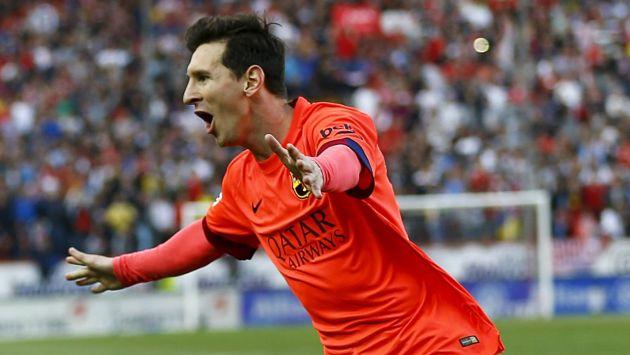 Messi será de la partida. (Reuters)